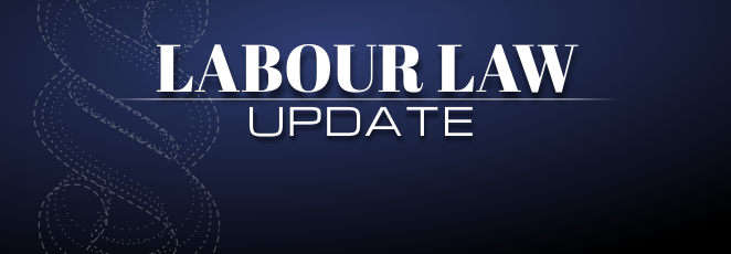 Labour Law Update: Notice periods