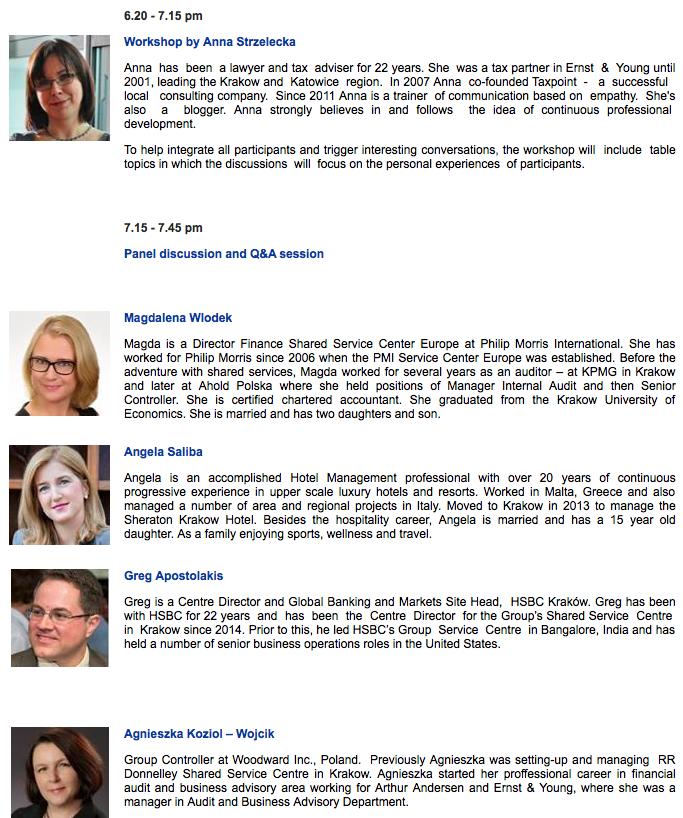 WBN and HSBC workshop – professional development - ASPIRE